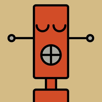 ModTots Robots Corkscrew Wall Plaque