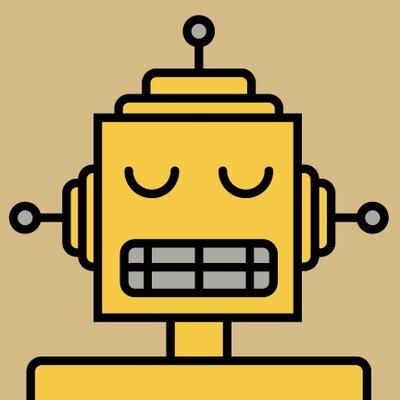 ModTots Robots Jackhammer Wall Plaque