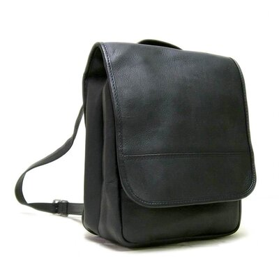 Le Donne Leather Convertible Backpack / Shoulder Bag