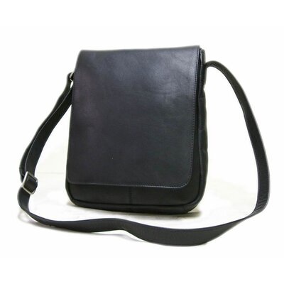 Flap Over Vertical Shoulder Bag