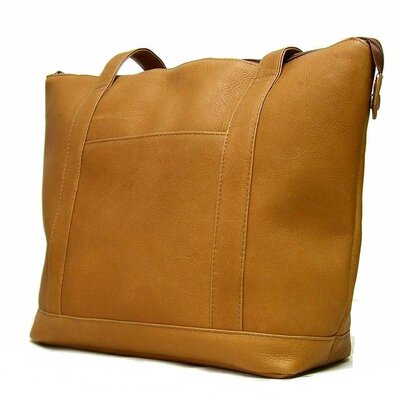Le Donne Leather Double Strap Pocket Tote Bag