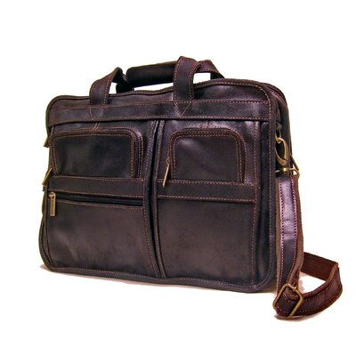 Le Donne Leather Multi Function Briefcase