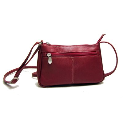 Le Donne Leather Top Zip Mini Crossbody
