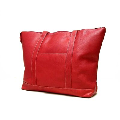 Le Donne Leather Double Strap Medium Pocket Tote