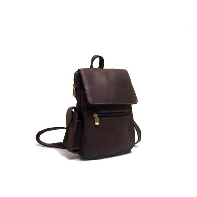 Distressed Leather Women's Backpack/Purse