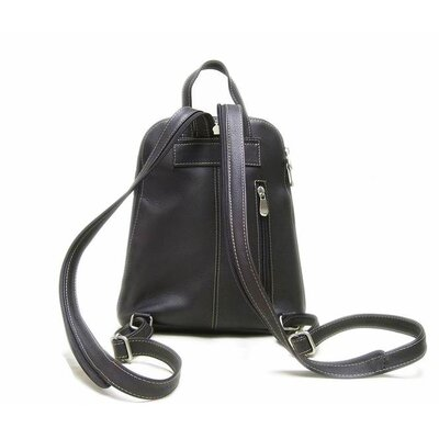 Le Donne Leather U-Zip Woman's Sling Backpack
