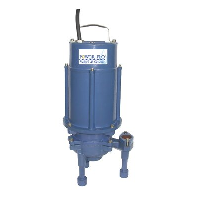 2 HP Grinder Submersible Pump High Head with Single Seal and Internal Capacitors