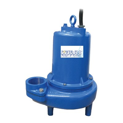 Power-Flo 2 HP Sewage Submersible Pump
