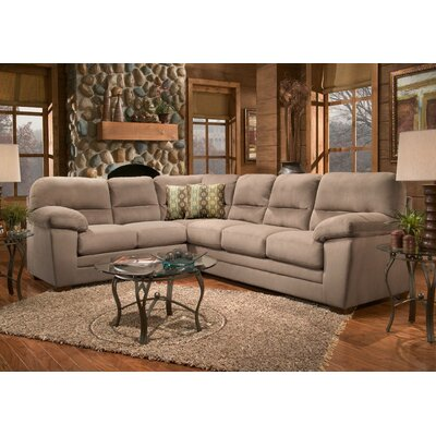 Newport Upholstery Bristol Padded Sleeper Sectional