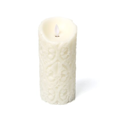 "<strong>Boston Warehouse Trading Corp</strong> Mystique 7"" Flameless Candle"