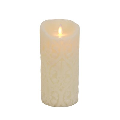 "Boston Warehouse Trading Corp Mystique 7"" Flameless Candle"