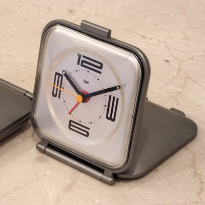 Folded Travel Alarm Clock