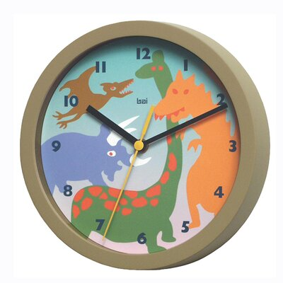 Bai Design Dinosaurs Children's Wall Clock