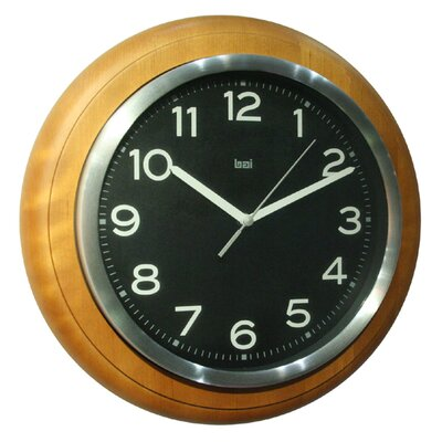 Bai Design Wall Clock in Classic Black