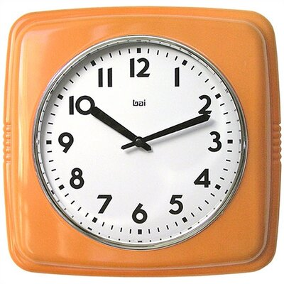 Bai Design Cubist Retro Modern Wall Clock