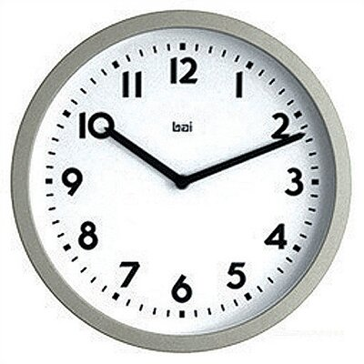 Bai Design Satin Modern Wall Clock