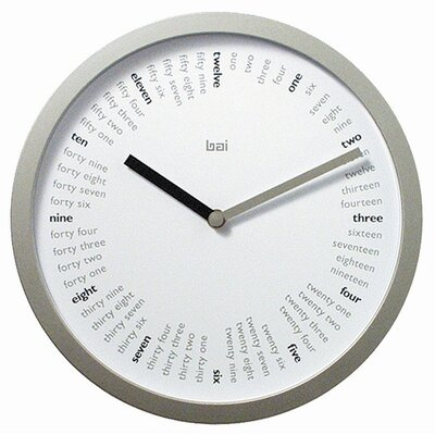 "Bai Design 10"" Spellbound Designer Wall Clock"