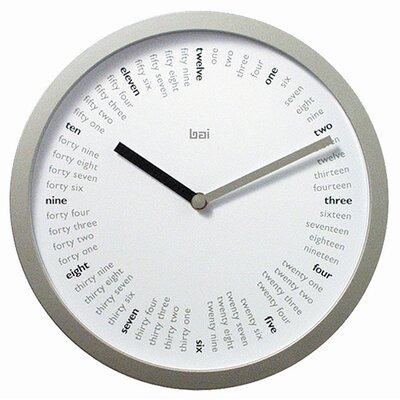 "Bai Design 10"" Spellbound Designer Wall Clock"