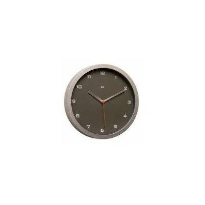 Bai Design Gotham Designer Wall Clock in Charcoal