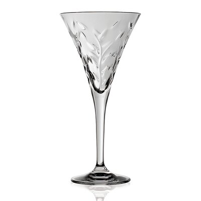 Lorren Home Trends RCR Laurus Crystal Water Glass