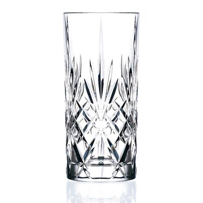 Lorren Home Trends RCR Melodia Crystal Highball Glass (Set of 6)