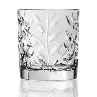 Lorren Home Trends RCR Laurus Crystal Double Old Fashioned (Set of 6)