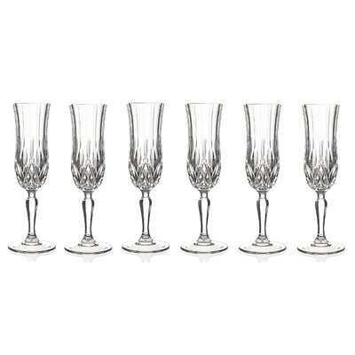 crystal champagne flutes argos