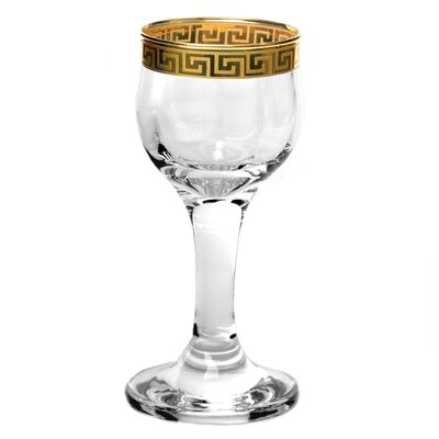 Lorren Home Trends Florence Liquor Goblet (Set of 4)
