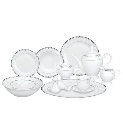 Rio 57 Piece Porcelain Dinnerware Set