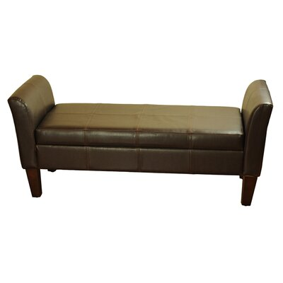 Kinfine Upholstered Storage Bedroom Bench