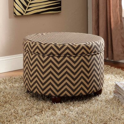 Fashion Round Storage Ottoman
