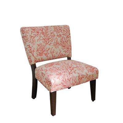HomePop Floral Gigi Fabric Slipper Chair Reviews Wayfair