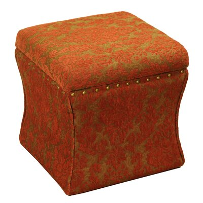 Kinfine Fabric Storage Ottoman | Wayfair