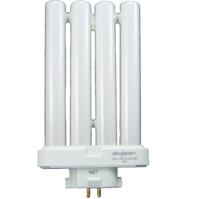 Lights of America 27 Watt Linear Quad 4 Pin Bulb in White