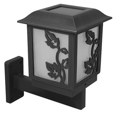 Paradise Garden Lighting 3-in-1 Solar 1 Light Wall Lantern