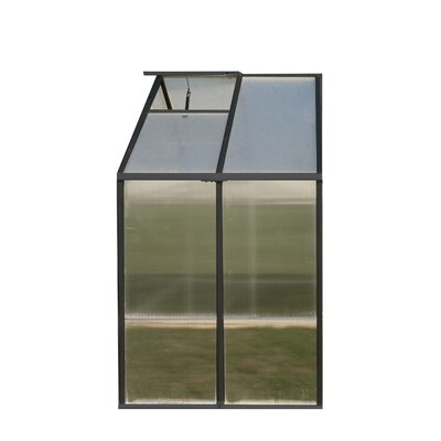 Riverstone Industries Monticello Quick Assembly Polycarbonate Greenhouse Extension