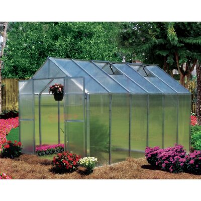 Riverstone Industries Monticello 8 x 12 ft. Premium Polycarbonate Commercial Greenhouse