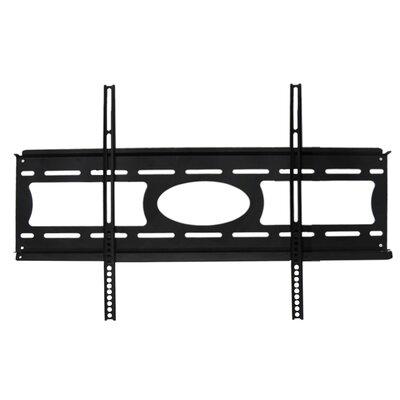 "Arrowmounts Fixed LCD Wall Mount in Black for 37-63"" Flat Panel TVs"