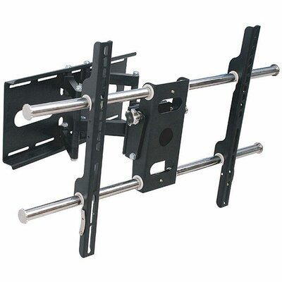 "Arrowmounts Full Motion Articulating Wall Mount in Black for 37-60"" Plasma / LED / LCD TVs"