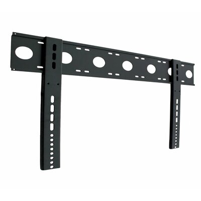 Ultra-Slim Fixed Wall Mount in Black for 32 to 52