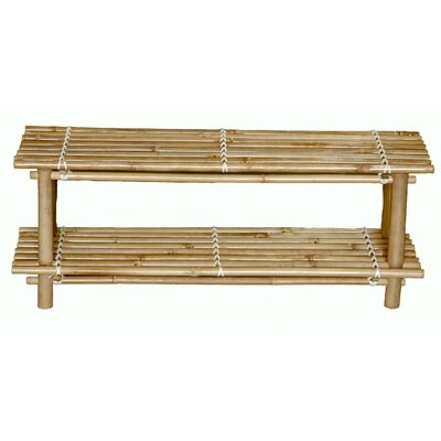 Bamboo54 Natural Bamboo Shoe Rack