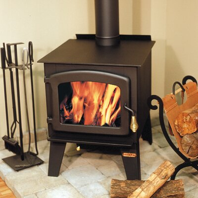 Drolet Austral 2,100 Square Foot Wood Stove on Legs