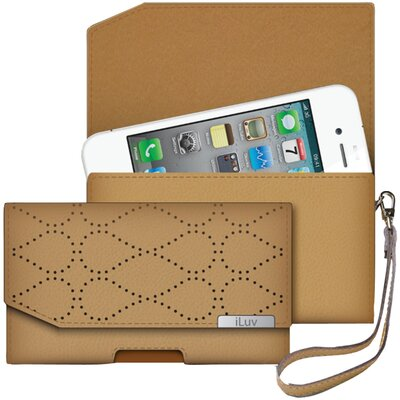 iLuv Leather Artisan iPhone 5 Case