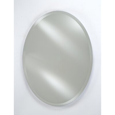 Afina Radiance Oval Frameless Wall Mirror