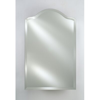 Afina Radiance Scallop Top Frameless Wall Mirror