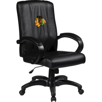 XZIPIT NHL Home Office Chair with Logo Panel