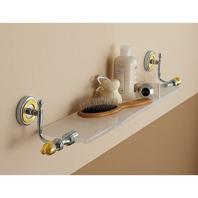 "Toscanaluce by Nameeks Queen 27.6"" x 5.1"" Bathroom Shelf"