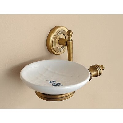 Wall Mounted Ceramic Soap Dish