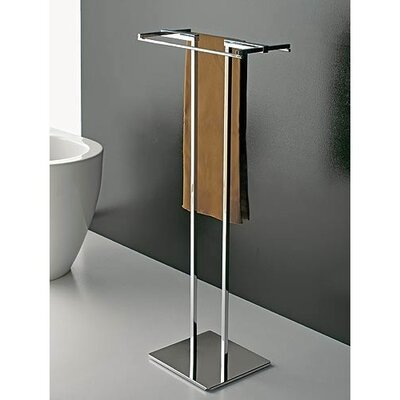 Toscanaluce by Nameeks Towel Stand with Chrome Base
