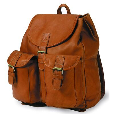 Vachetta Drawstring Backpack in Tan